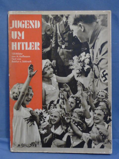 Original 1934 German Hoffmann Book, Jugend um Hitler