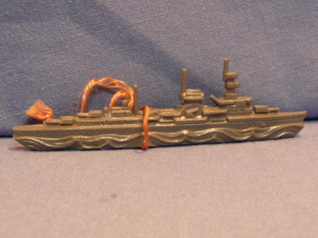 Original WWII German WHW Donation Figure, Battle Ship
