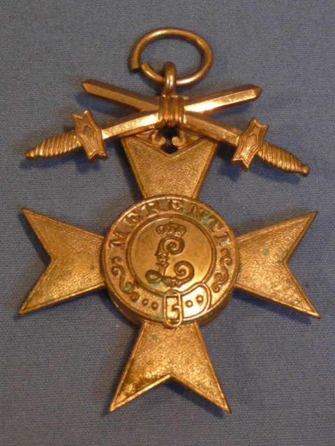 Original WWI Bavarian Military Merit Cross 3rd Class w/Swords