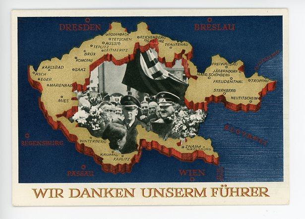 Original Nazi Era German Personality Postcard, HITLER