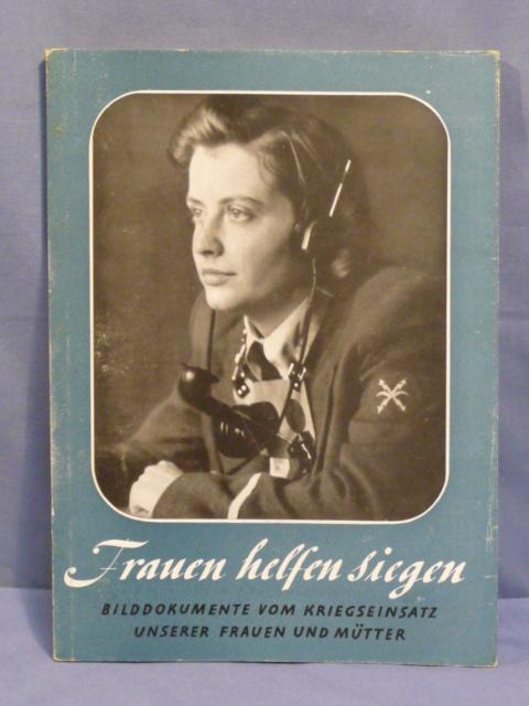 Original WWII German Book, Women Help Win