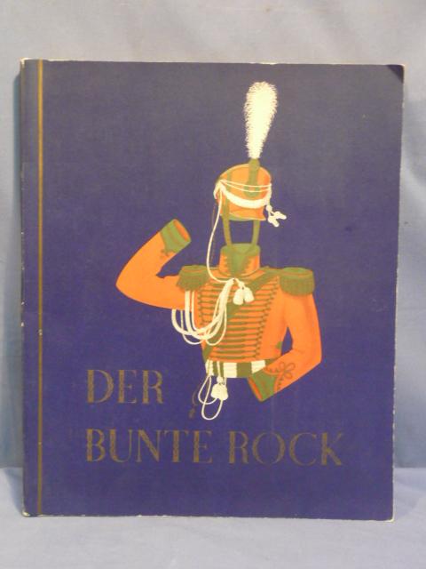 Original WWII Era German Cigarette Card Album, DER BUNTE ROCK