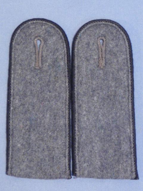 Original WWII German Luftwaffe EM Shoulder Straps, Pair