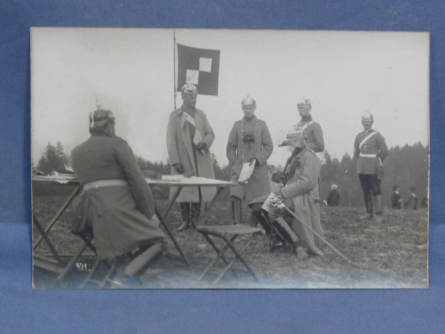 Original Pre-WWI German Photograph, Field Exercises 1911