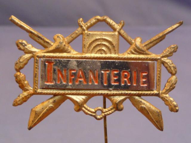Original Post-WWI German Veterans Reunion Badge for Infantry