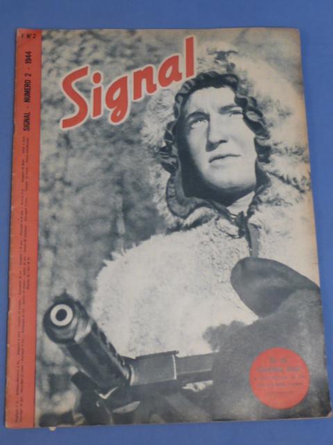 "Original WWII German ""Signal"" Magazine (French Language), 1944"